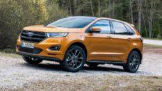 Ford Edge otomobilinin teknik özellikleri