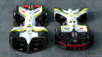 Dünyanın ilk sürücüsüz yarış otomobili 'Robocar'